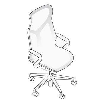 High Back Cosm Chair