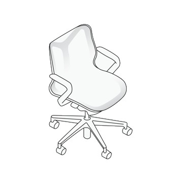 Low-Back Cosm Chair Specification
